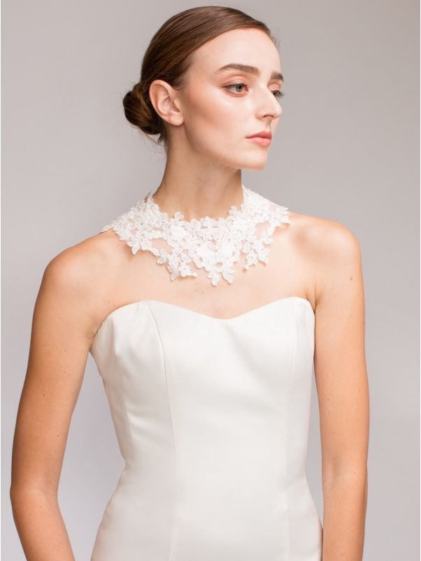 Bridal Lace Choker