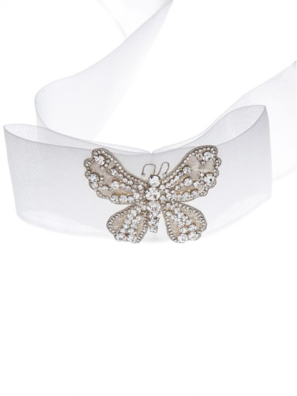Crystal-Embellished Bridal Belt