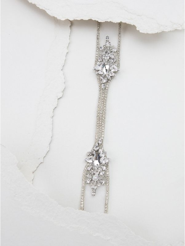 Embellished Tulle Bridal Belt