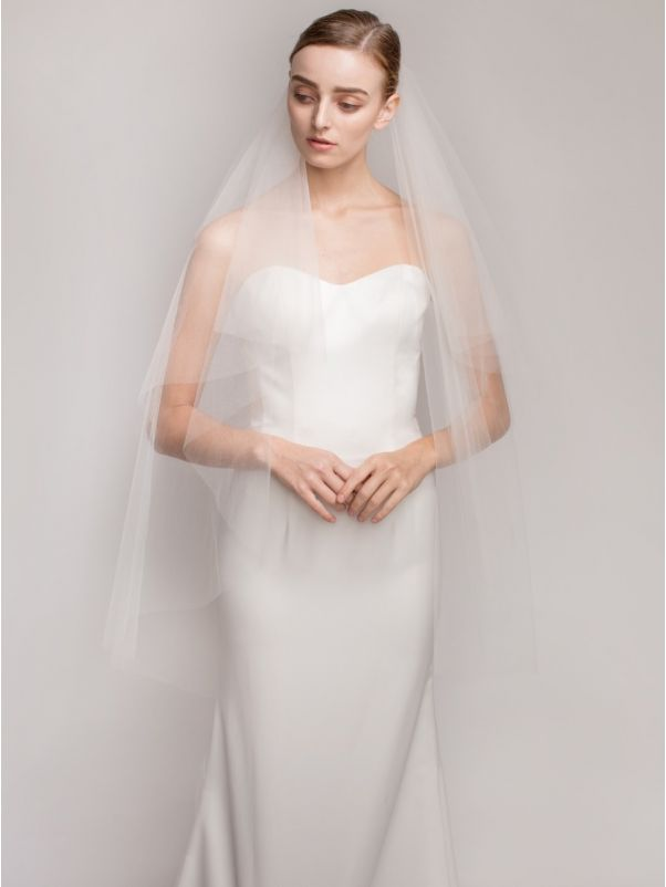 Plain Wedding Veil