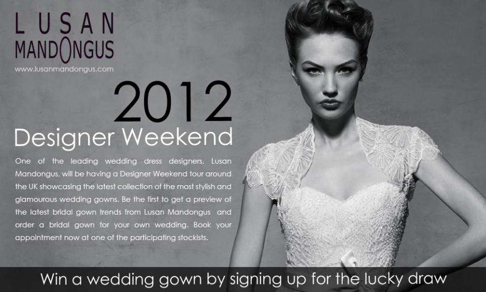 2012 DESIGNER WEEKEND